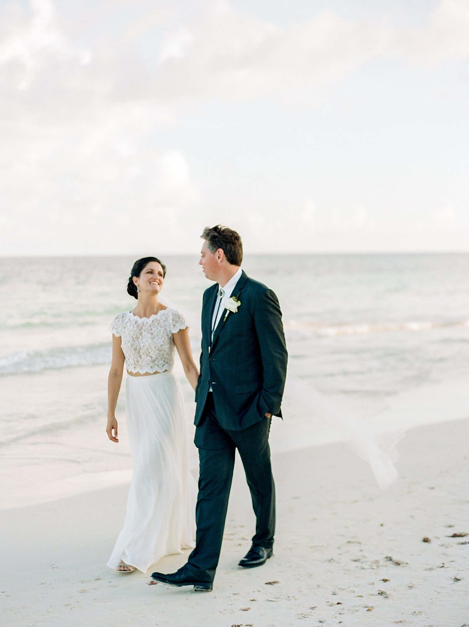Stylish and Candid Destination Film Wedding Photography in Tulum Mexico by Magdalena Studios 0024