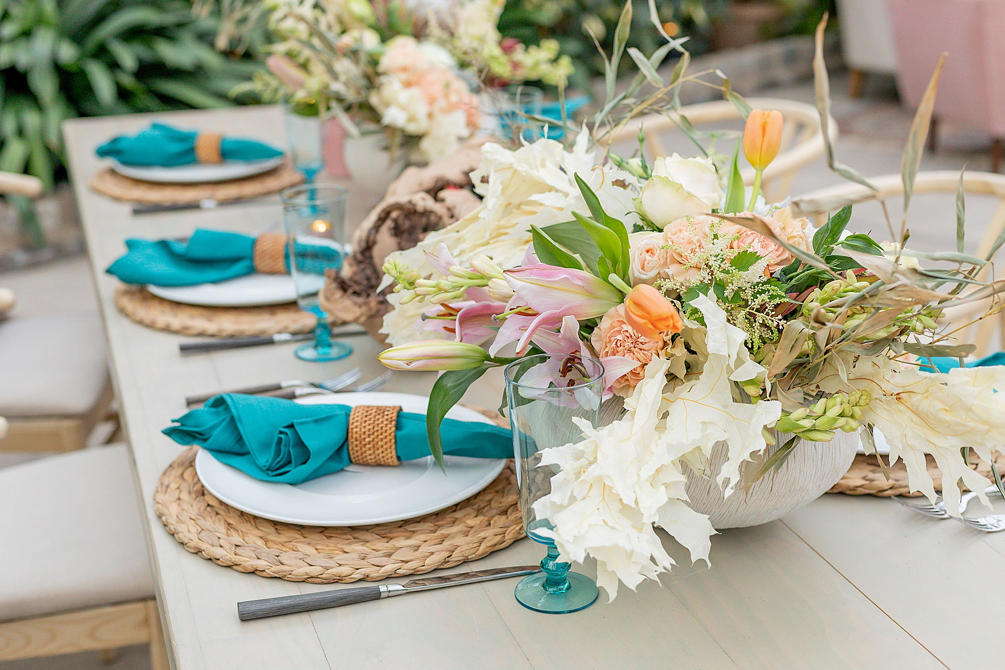 Colorful and Vibrant Wedding Photography at Fairmount Horticultural Center by Magdalena Studios 0037