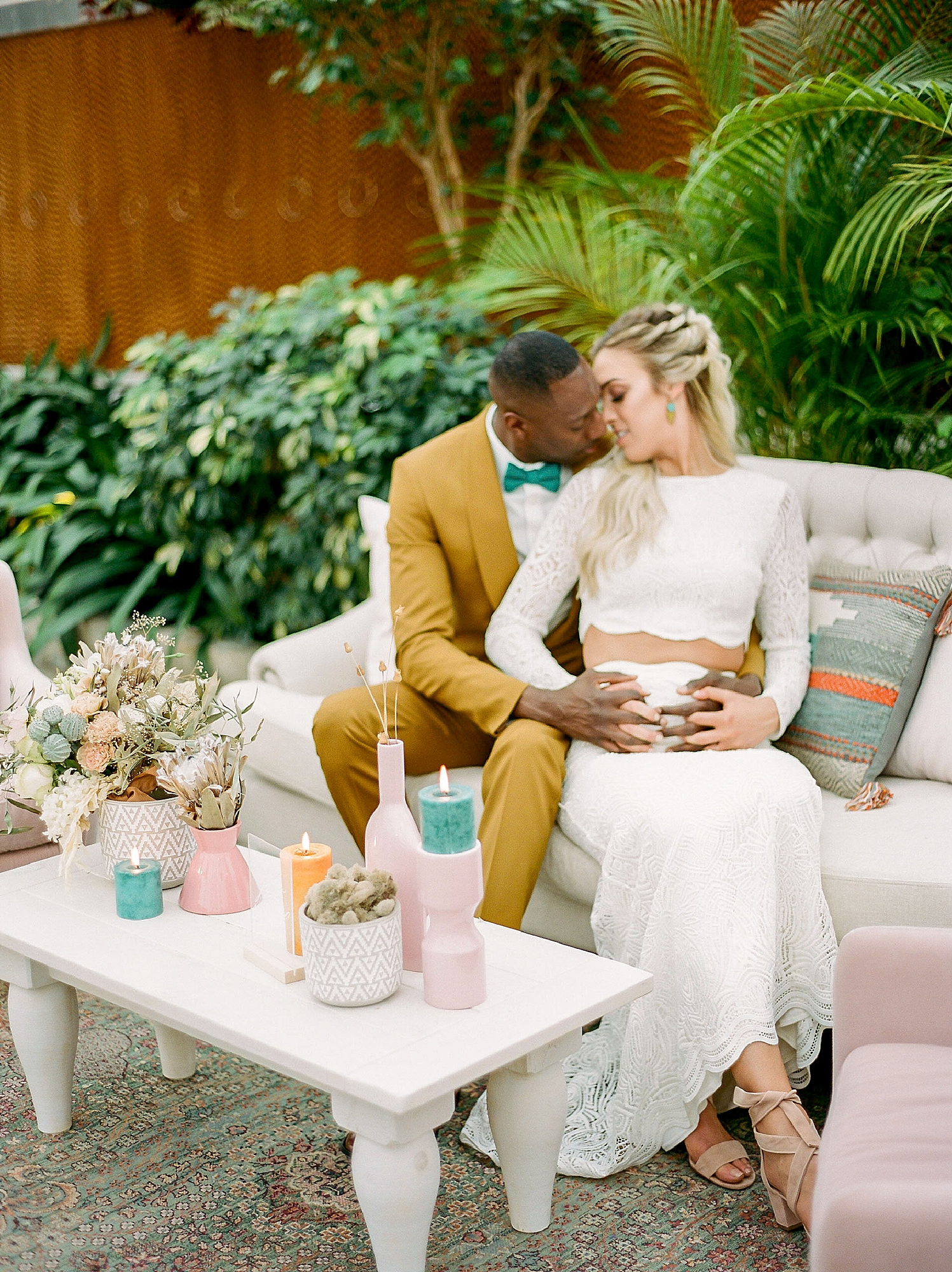 Colorful and Vibrant Wedding Photography at Fairmount Horticultural Center by Magdalena Studios 0042