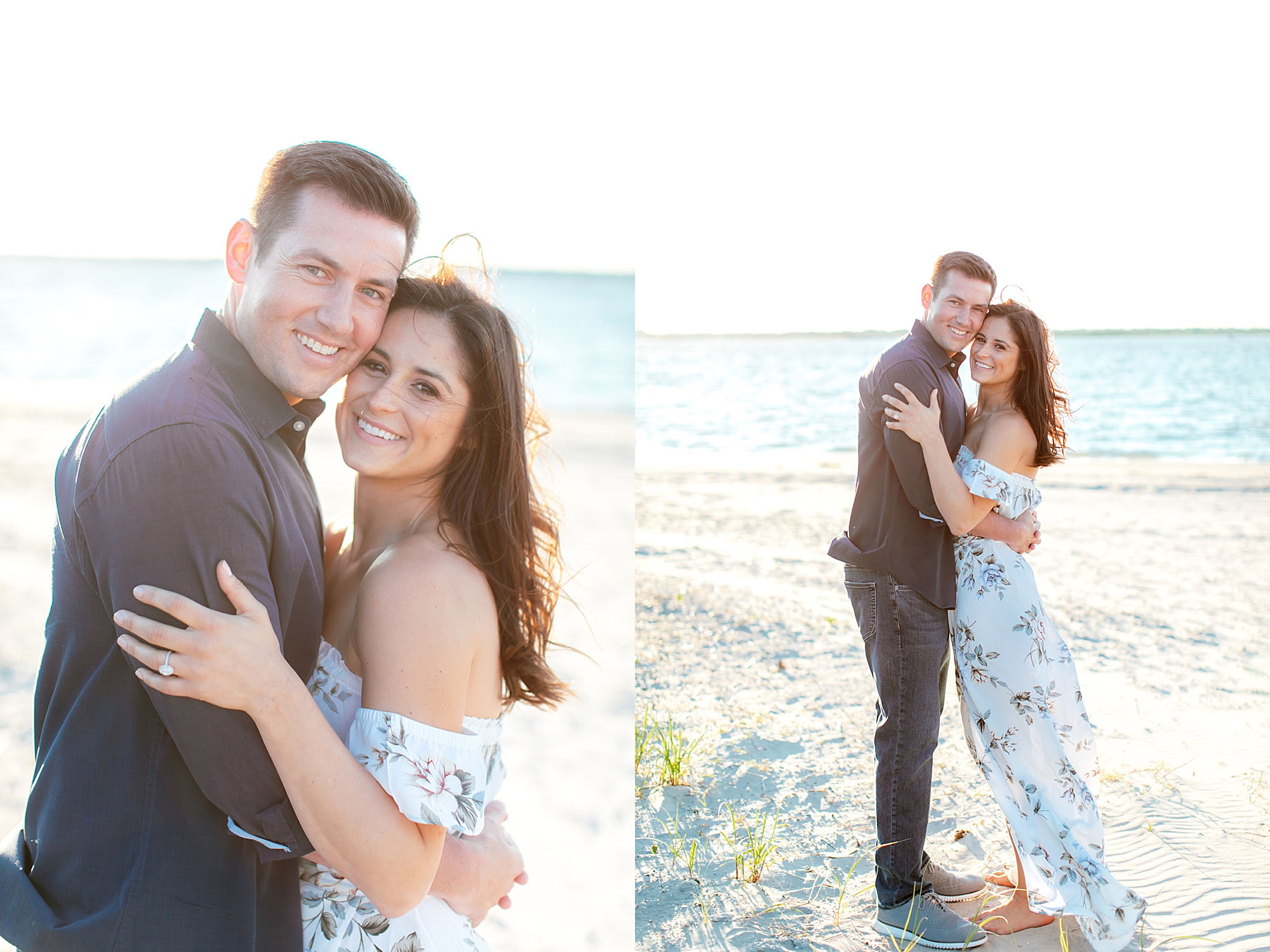 Film Engagement Session Photography in Ocean City NJ by Magdalena Studios 0037