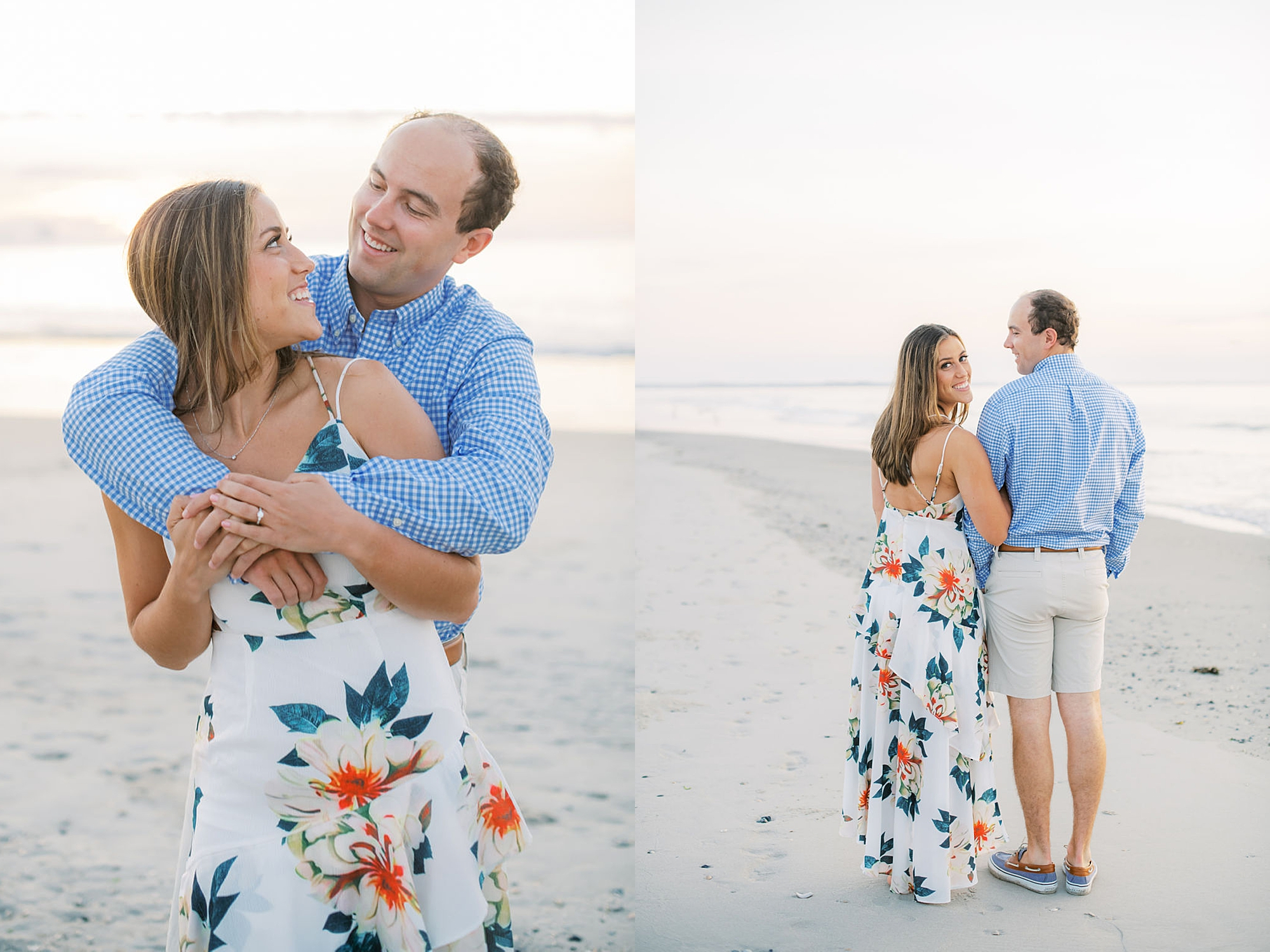 Organic and Romantic Engagement Photography in Ocean City NJ by Magdalena Studios 0002