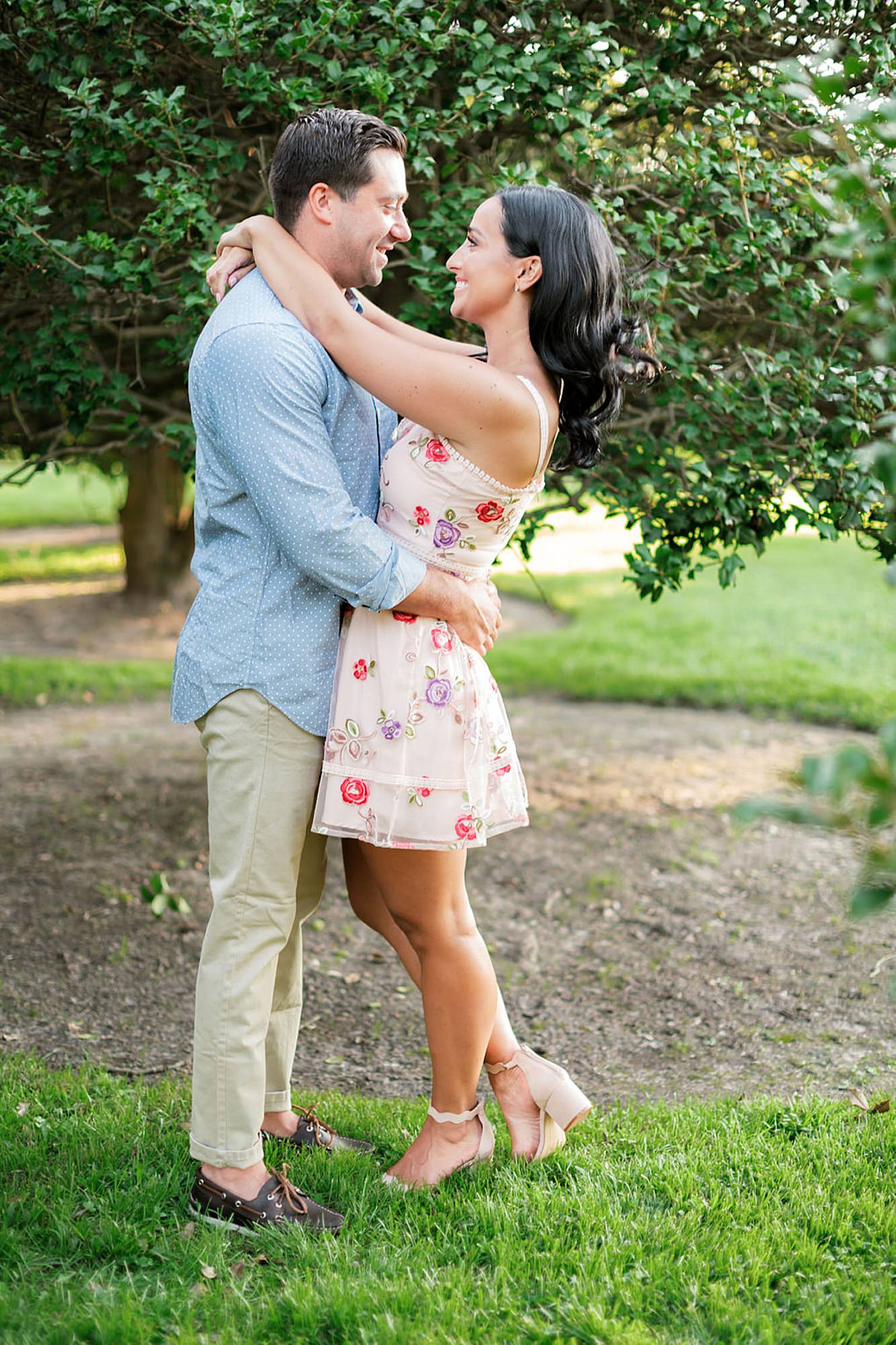 Airy and Bright Engagement Photography in Ocean City NJ by Magdalena Studios 0009