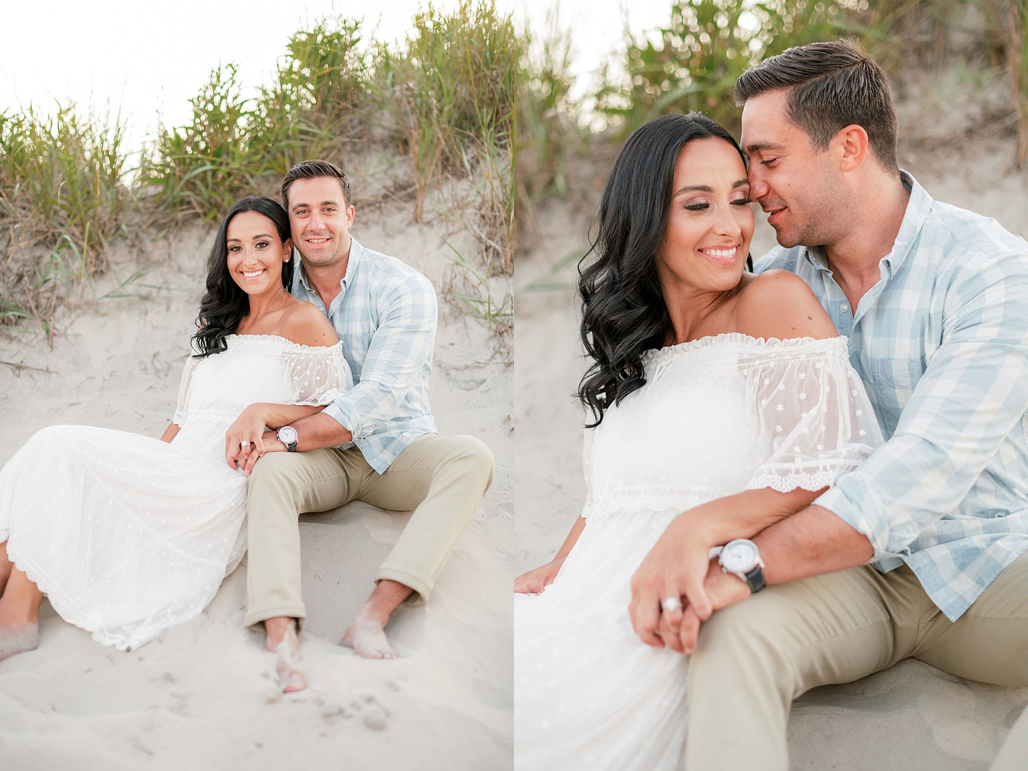 Airy and Bright Engagement Photography in Ocean City NJ by Magdalena Studios 0021