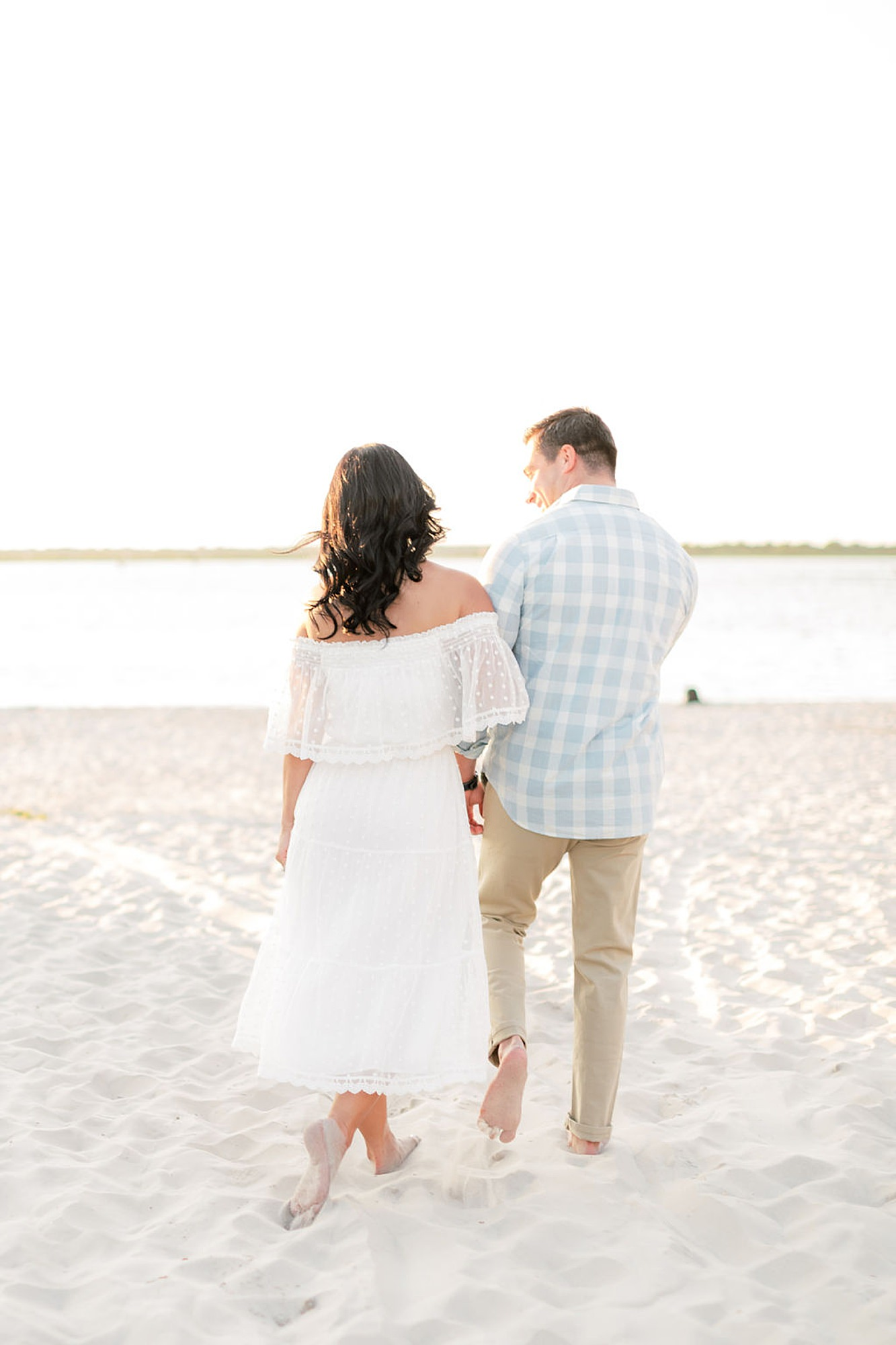 Airy and Bright Engagement Photography in Ocean City NJ by Magdalena Studios 0023