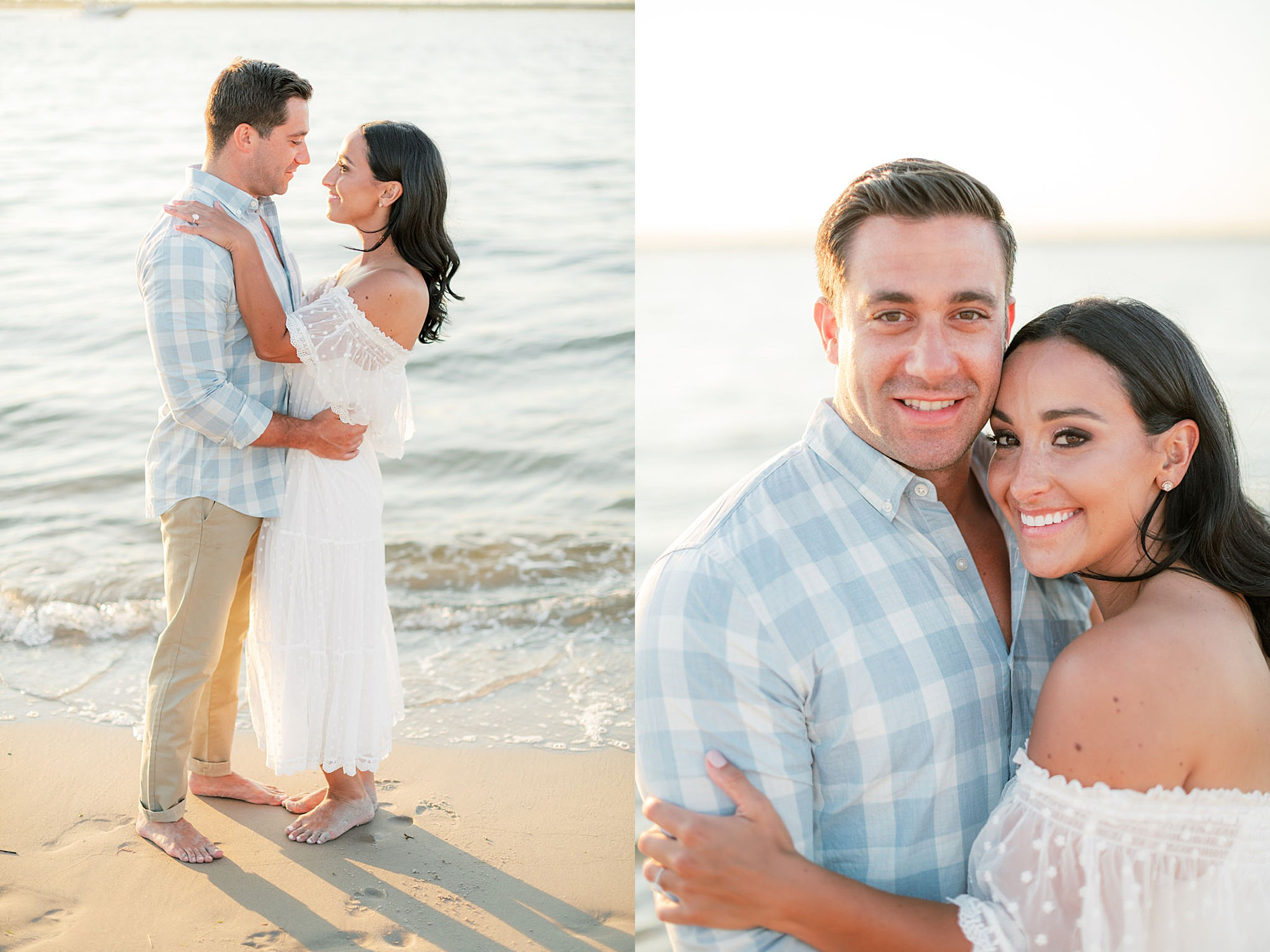 Airy and Bright Engagement Photography in Ocean City NJ by Magdalena Studios 0027
