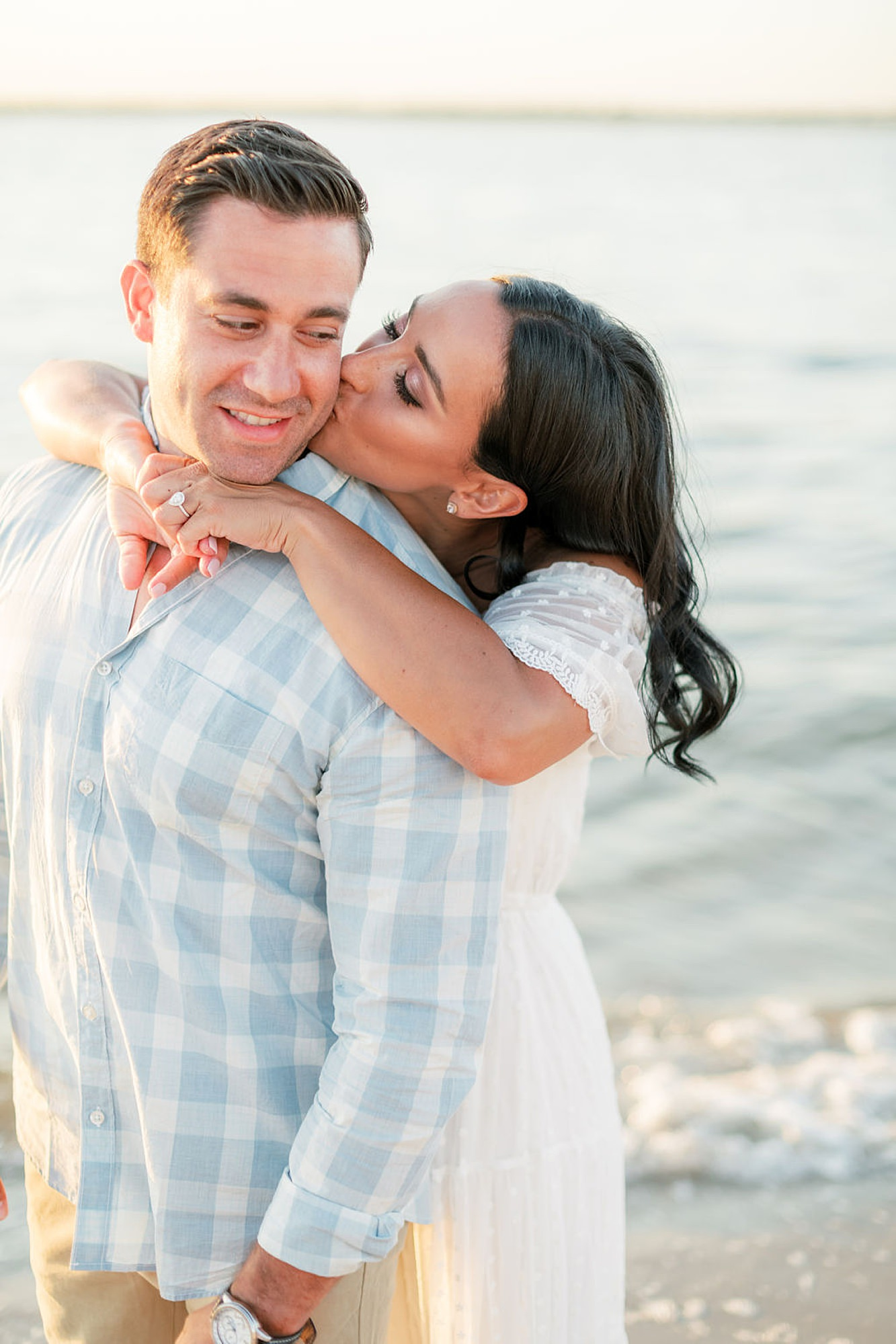 Airy and Bright Engagement Photography in Ocean City NJ by Magdalena Studios 0030