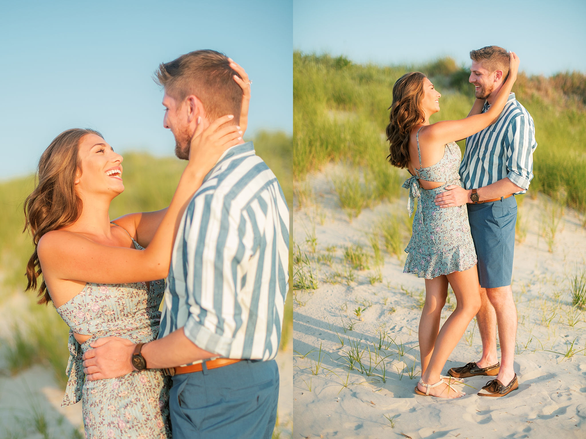 Bright and Fun Engagement Photography in Ocean City NJ by Magdalena Studios 0003
