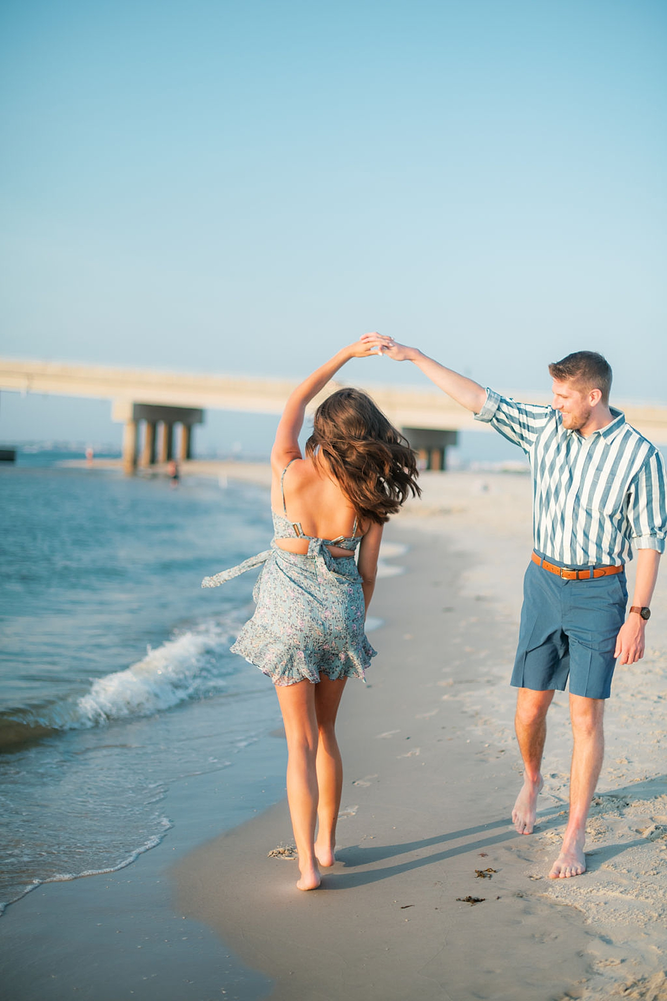 Bright and Fun Engagement Photography in Ocean City NJ by Magdalena Studios 0007