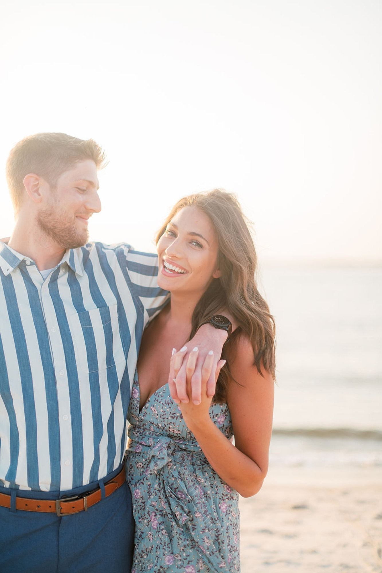 Bright and Fun Engagement Photography in Ocean City NJ by Magdalena Studios 0014