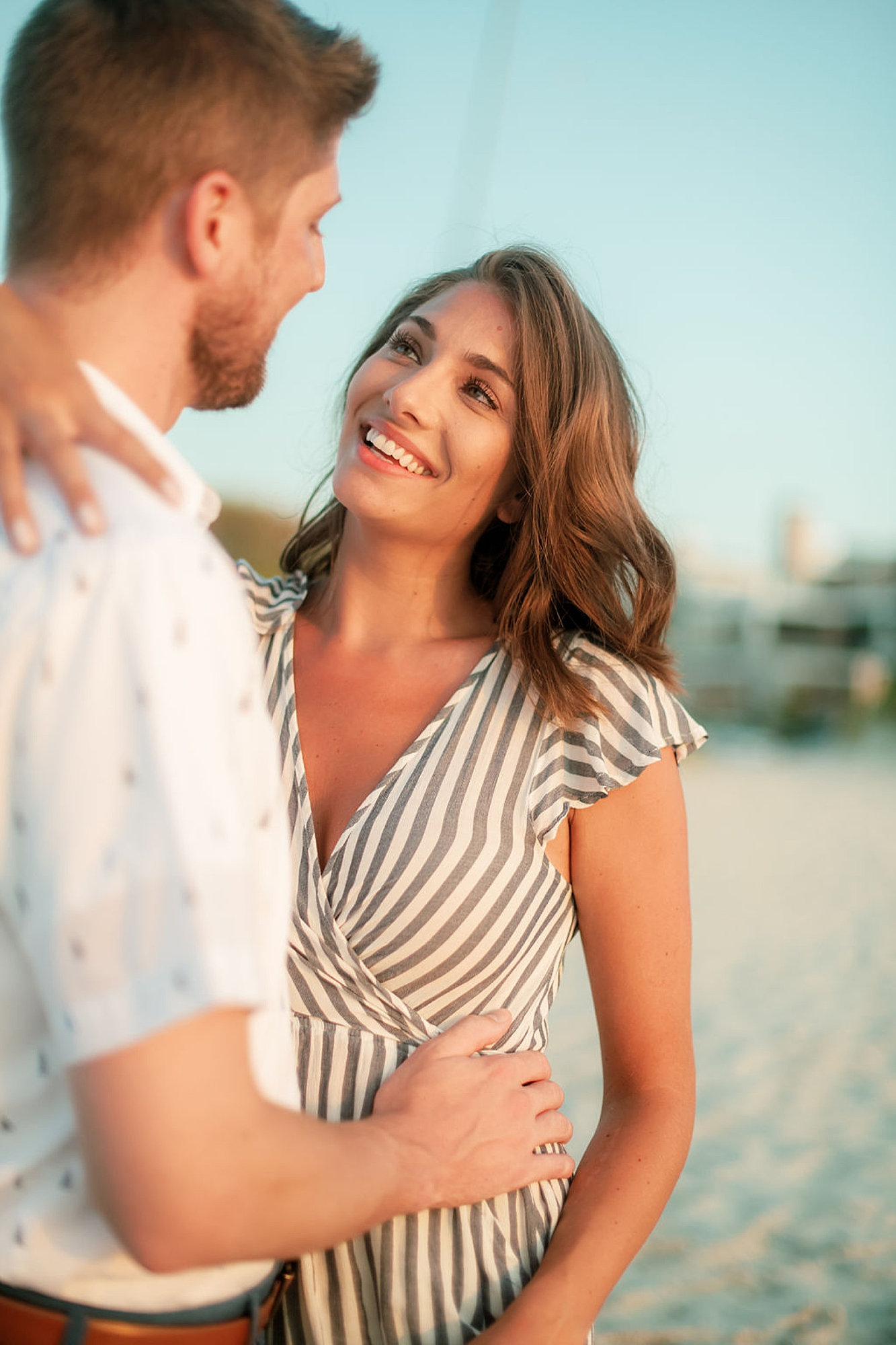 Bright and Fun Engagement Photography in Ocean City NJ by Magdalena Studios 0024