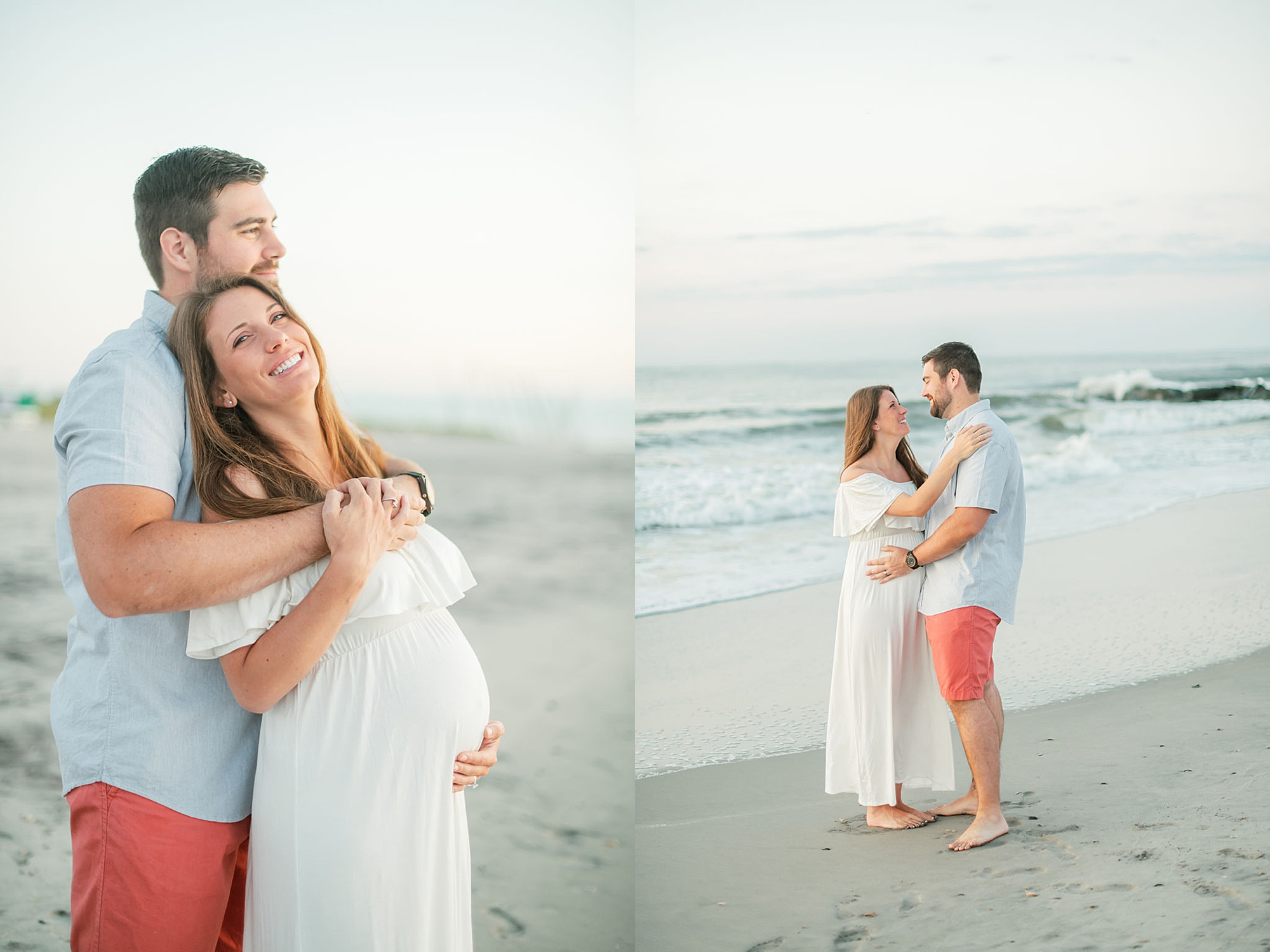 Glowy and Romantic Maternity Photography in Ocean City NJ by Magdalena Studios 0003