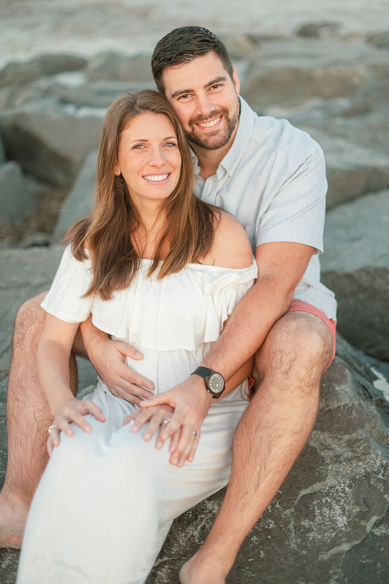 Glowy and Romantic Maternity Photography in Ocean City NJ by Magdalena Studios 0008