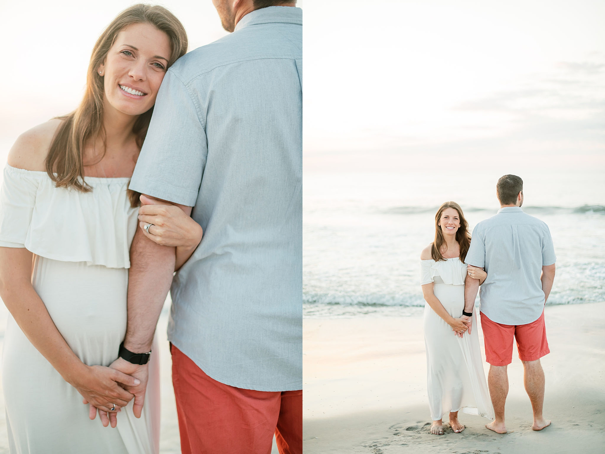 Glowy and Romantic Maternity Photography in Ocean City NJ by Magdalena Studios 0009