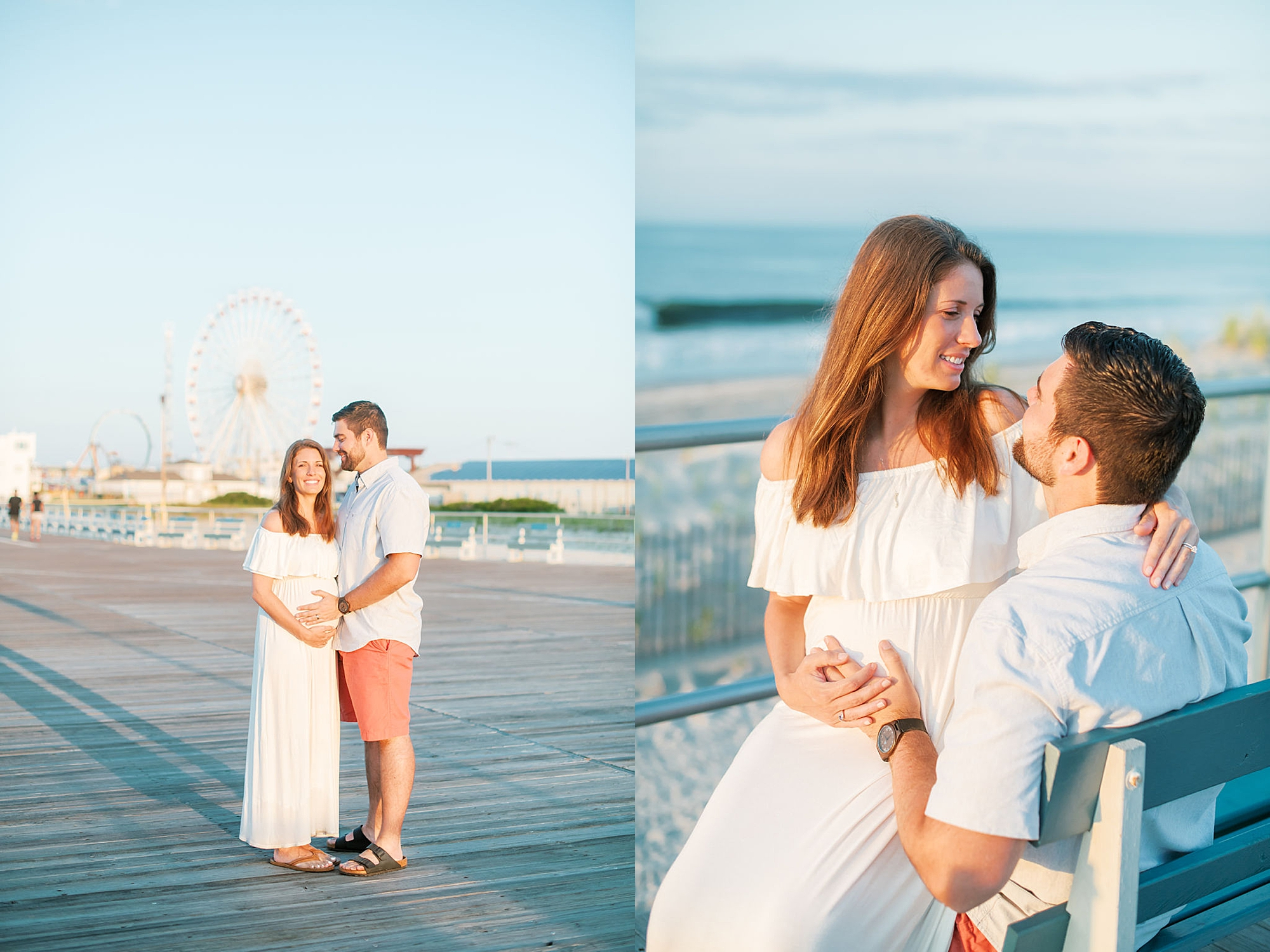 Glowy and Romantic Maternity Photography in Ocean City NJ by Magdalena Studios 0013