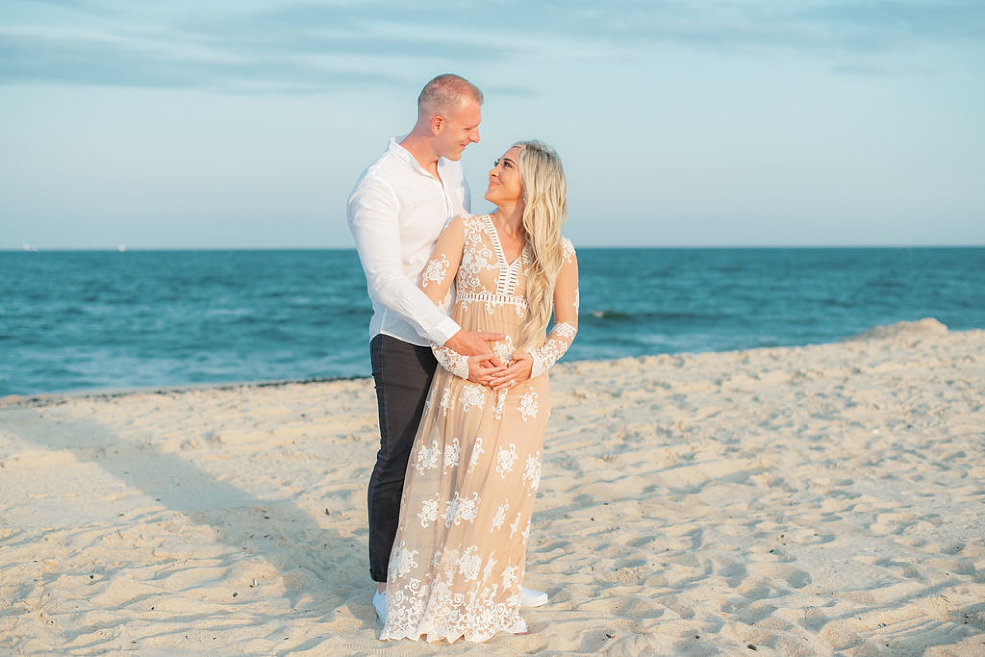 Natural and Fun Maternity Photography in Ocean City NJ by Magdalena Studios 0010