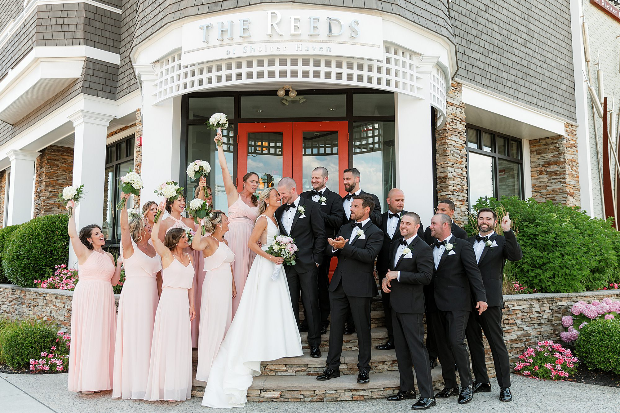 Natural and Vibrant Wedding Photography at the Reeds in Stone Harbor NJ by Magdalena Studios 0028