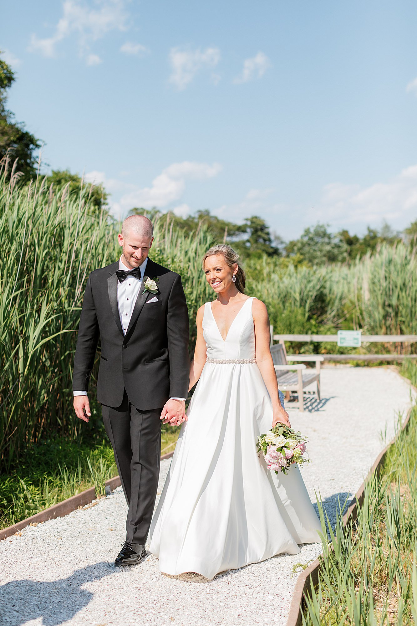 Natural and Vibrant Wedding Photography at the Reeds in Stone Harbor NJ by Magdalena Studios 0044