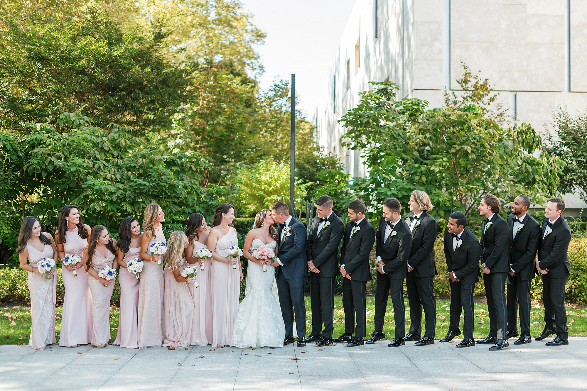 Free Library of Philadelphia Wedding Photography by Magdalena Studios 0023
