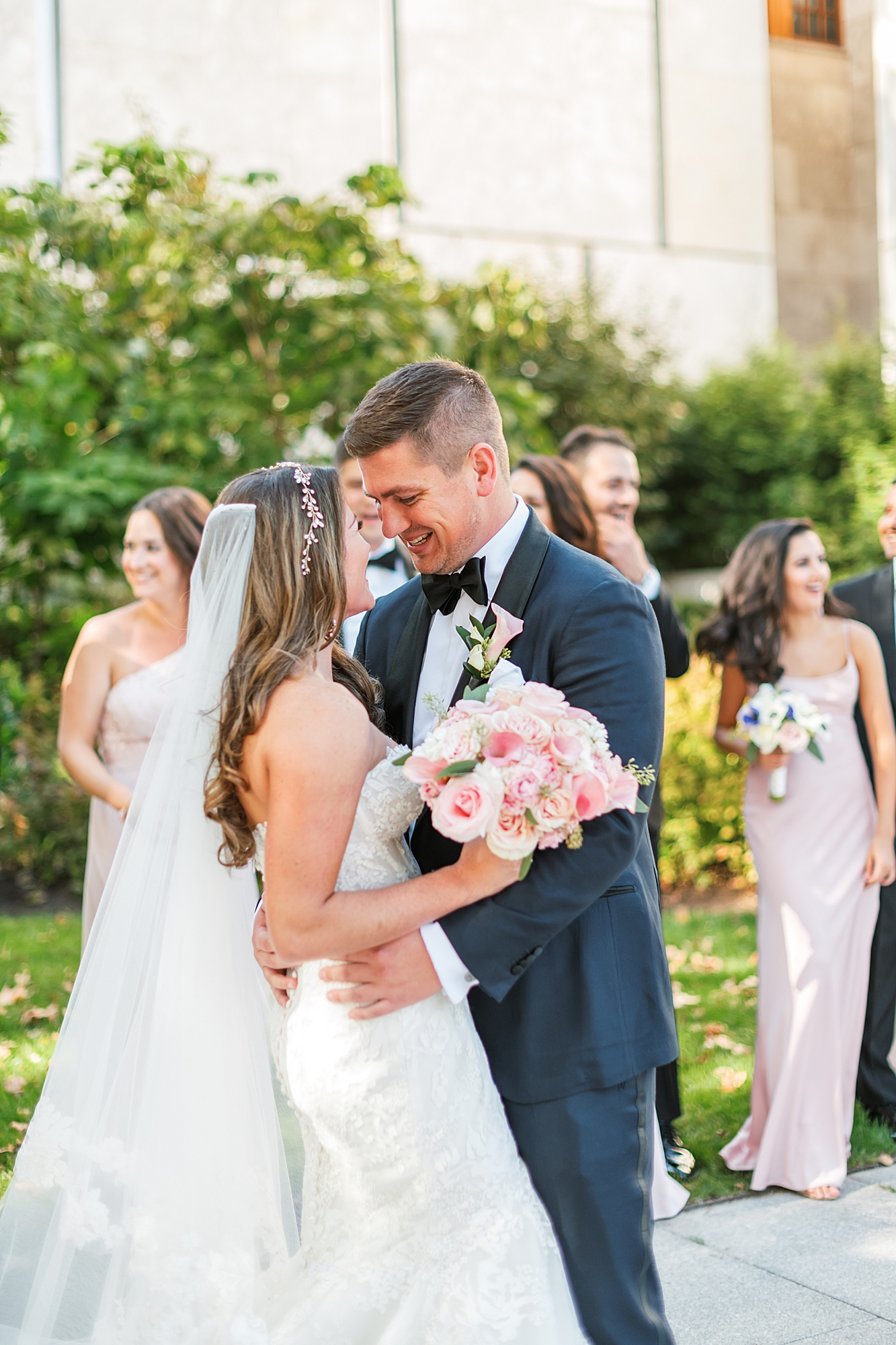 Free Library of Philadelphia Wedding Photography by Magdalena Studios 0024