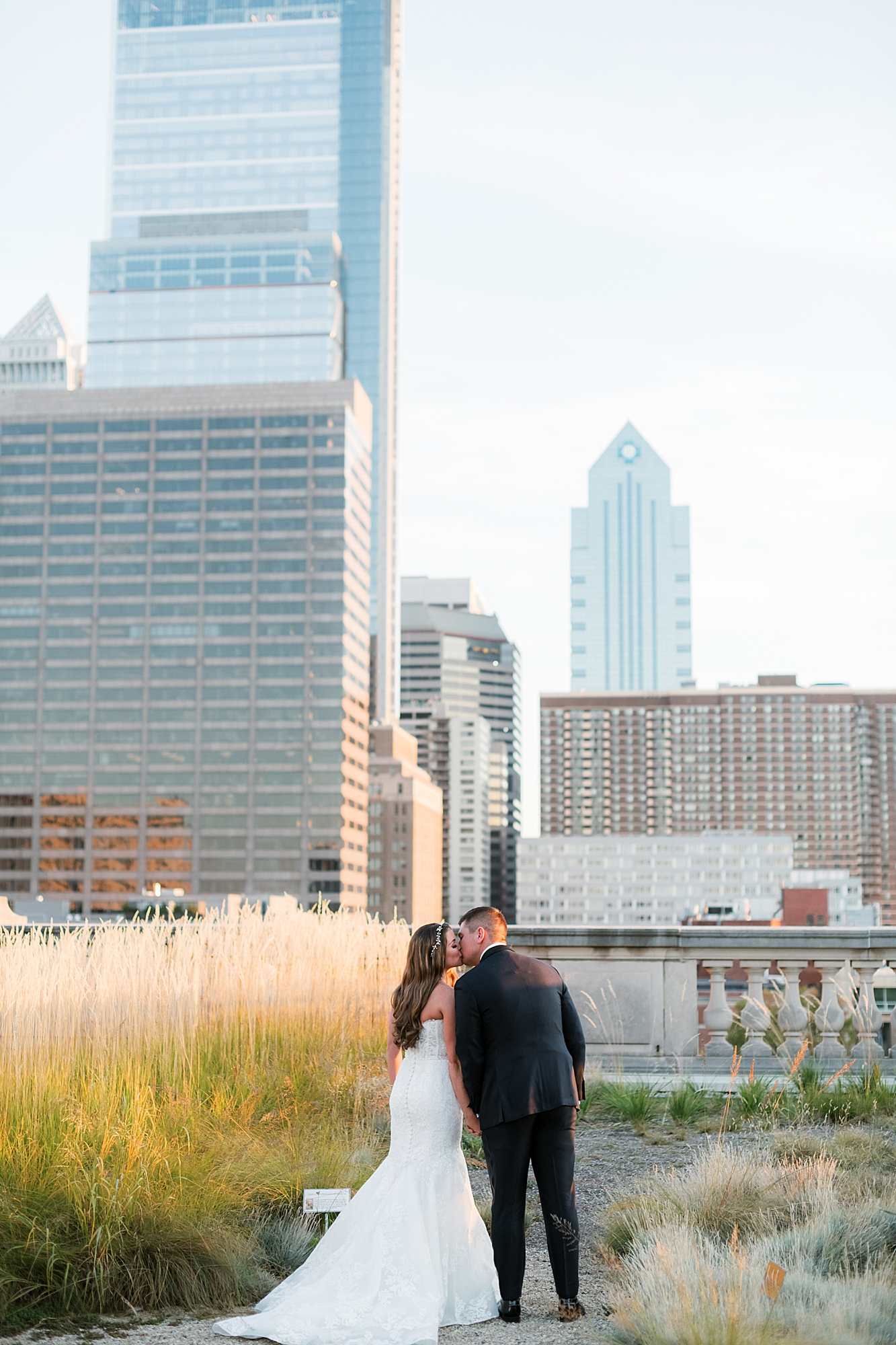 Free Library of Philadelphia Wedding Photography by Magdalena Studios 0036