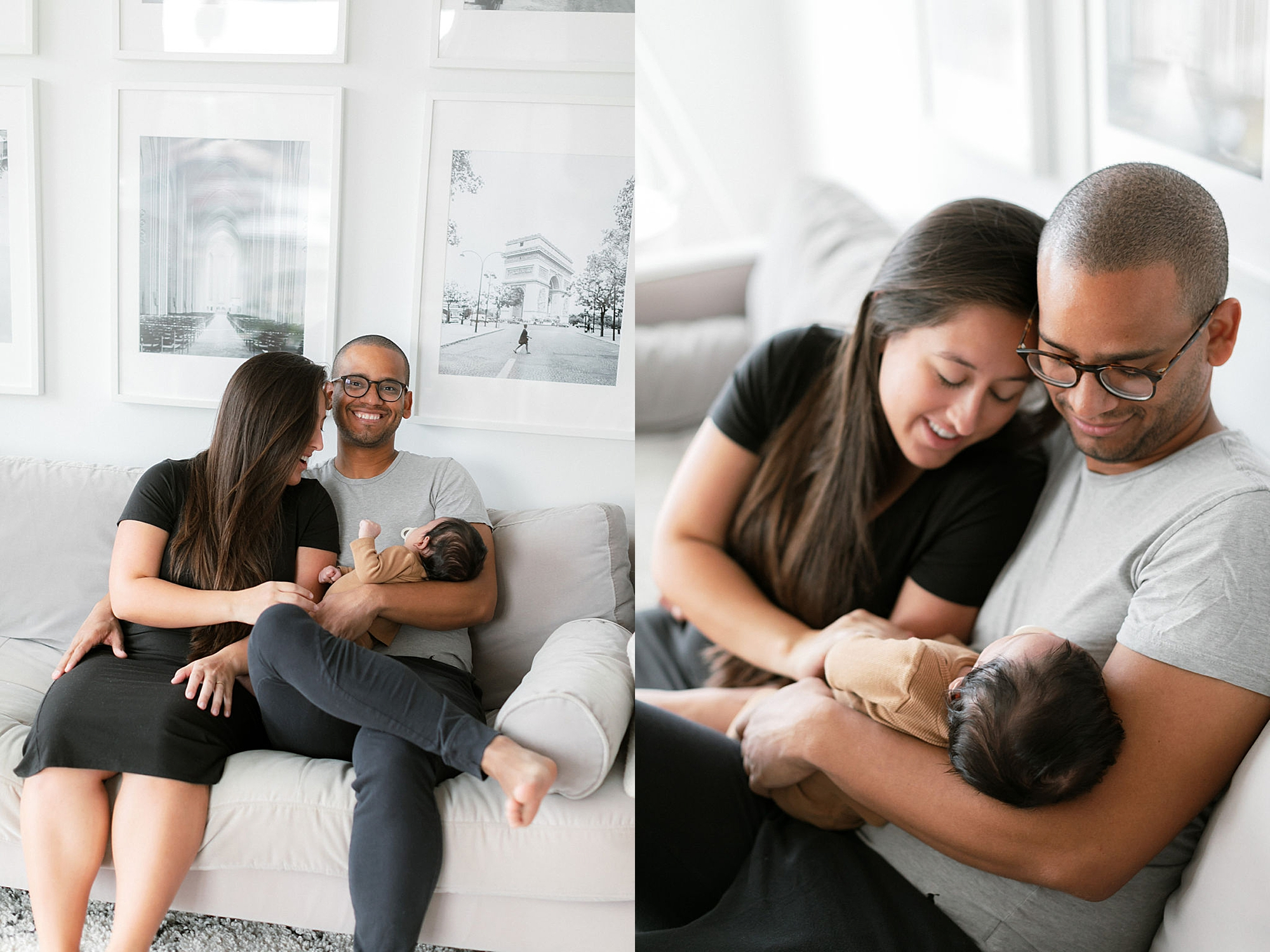 Lifestyle Home Newborn Session Family Portraits NYC by Magdalena Studios29
