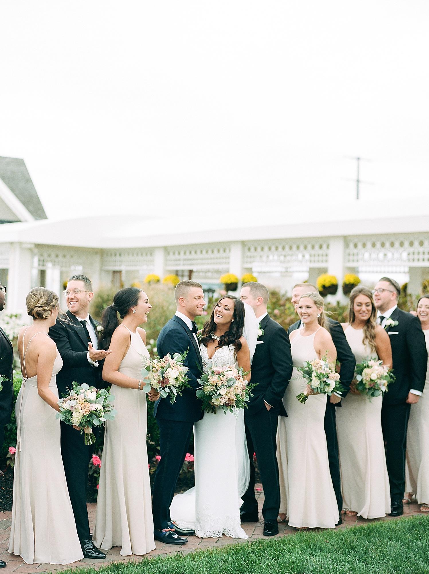 Mallard Island Yacht Club Film Wedding Photography by Magdalena Studios 0023