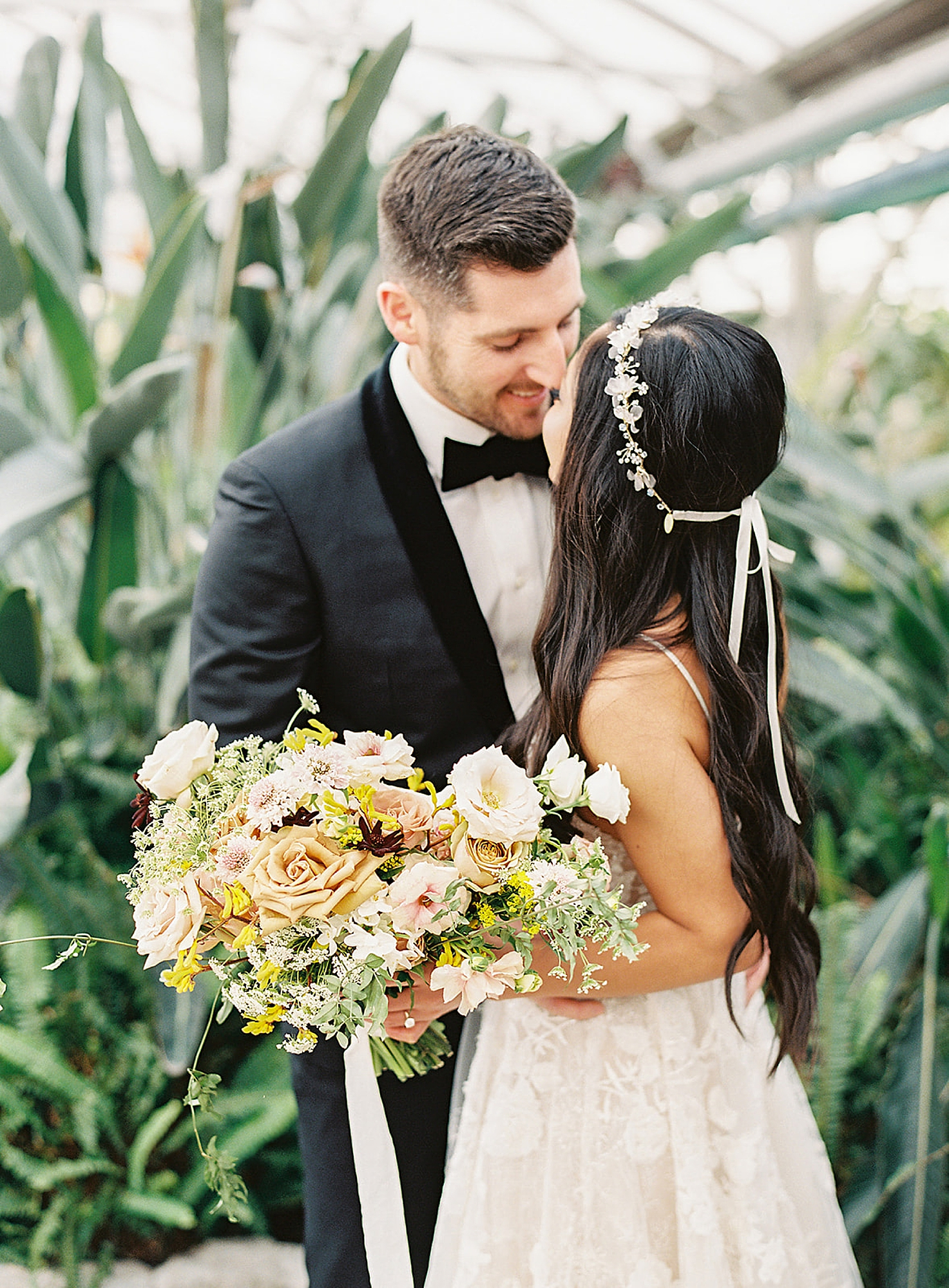 Fairmount Horticultural Center Film Wedding Photography by Magdalena Studios 0025