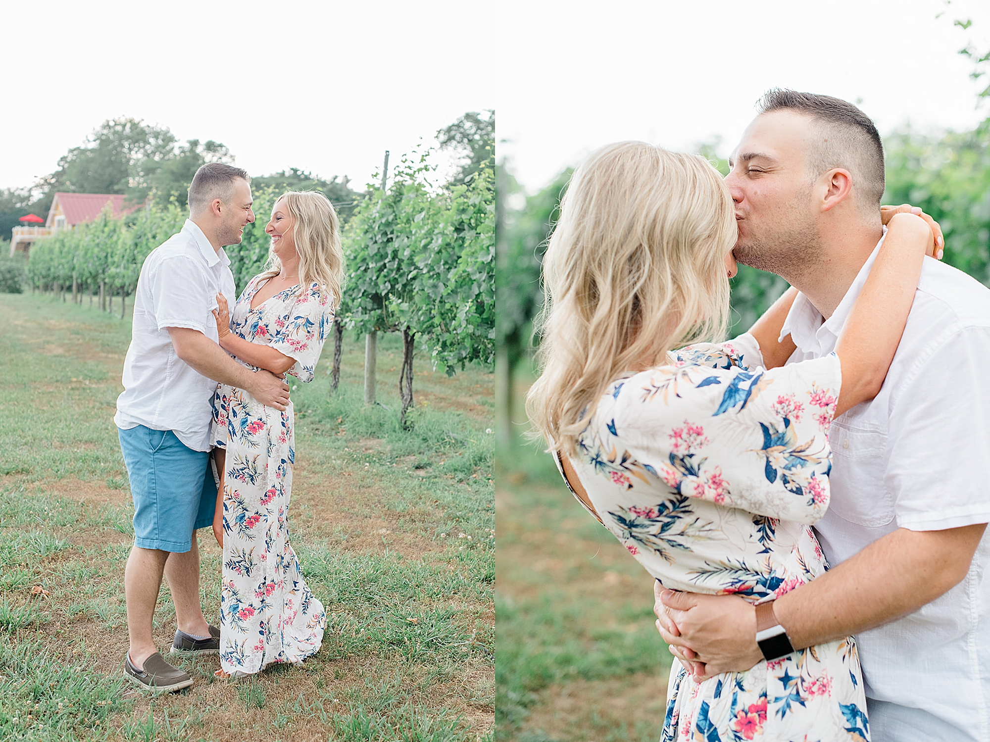 Willow Creek Winery New Jersey Engagement Photography with Dog by Magdalena Studios 0004
