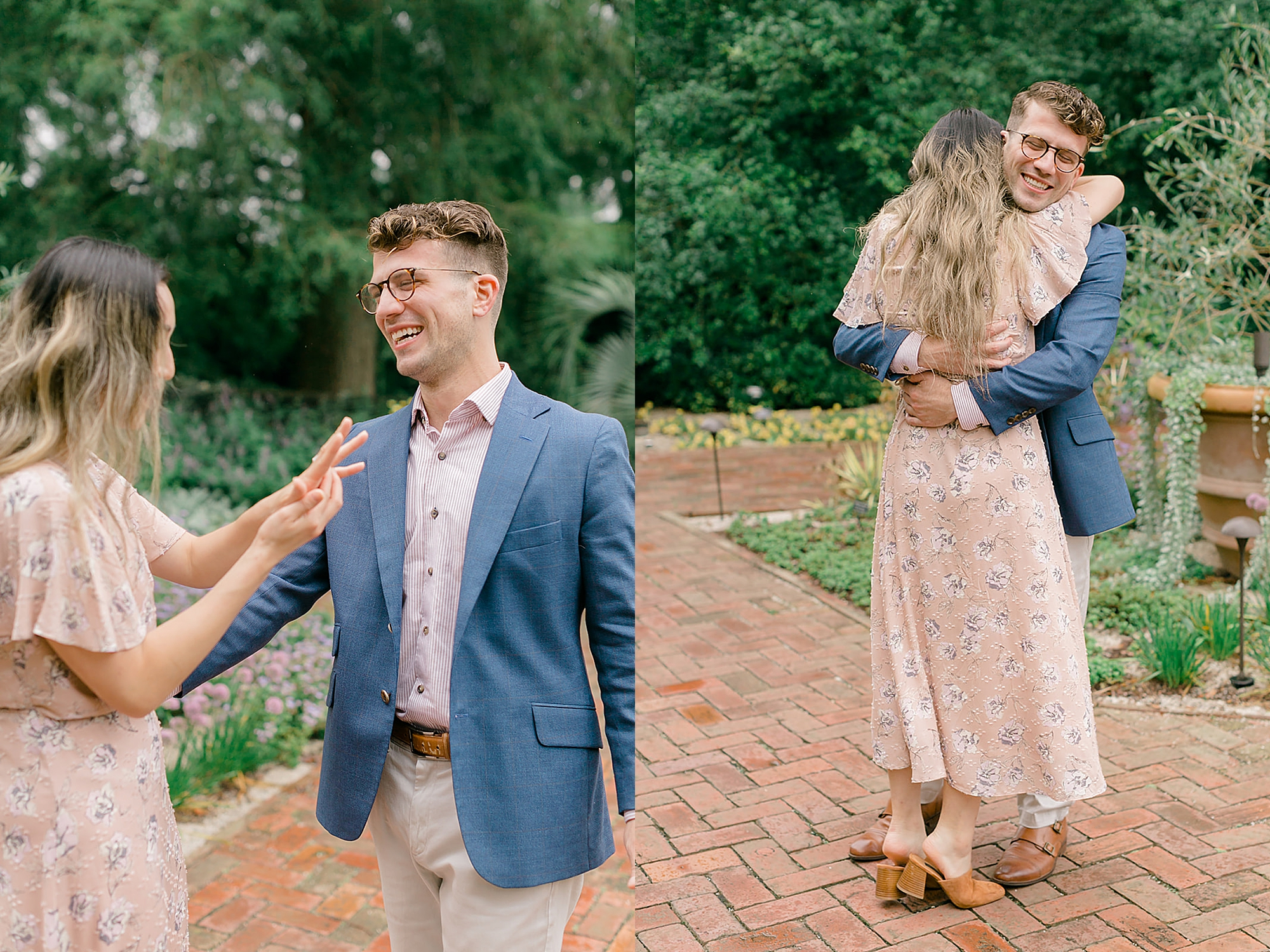 Longwood Gardens Surprise Proposal Engagement Photography by Magdalena Studios 0007