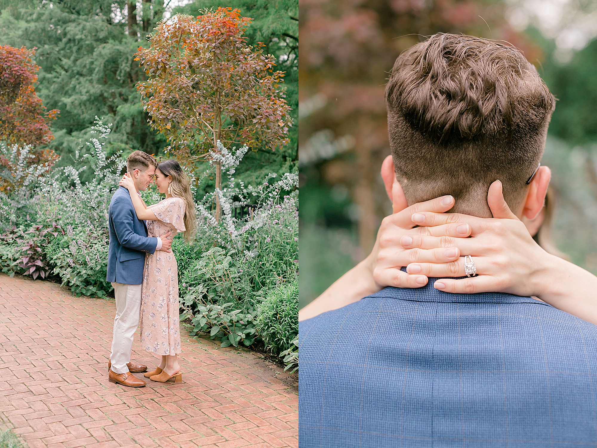 Longwood Gardens Surprise Proposal Engagement Photography by Magdalena Studios 0009