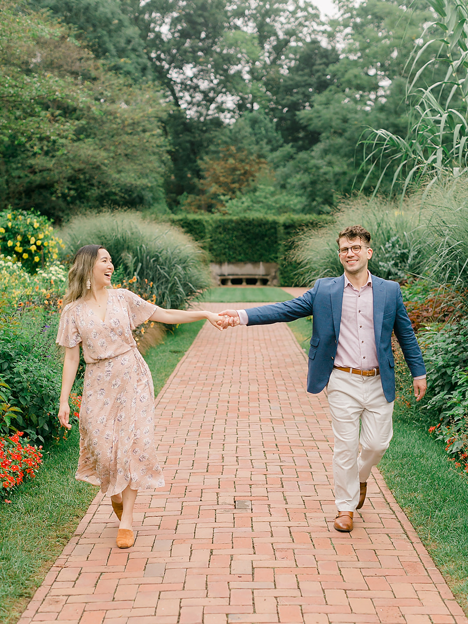 Longwood Gardens Surprise Proposal Engagement Photography by Magdalena Studios 0012