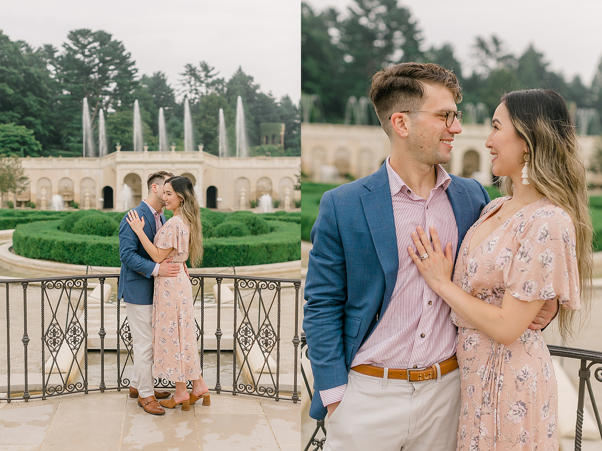 Longwood Gardens Surprise Proposal Engagement Photography by Magdalena Studios 0018