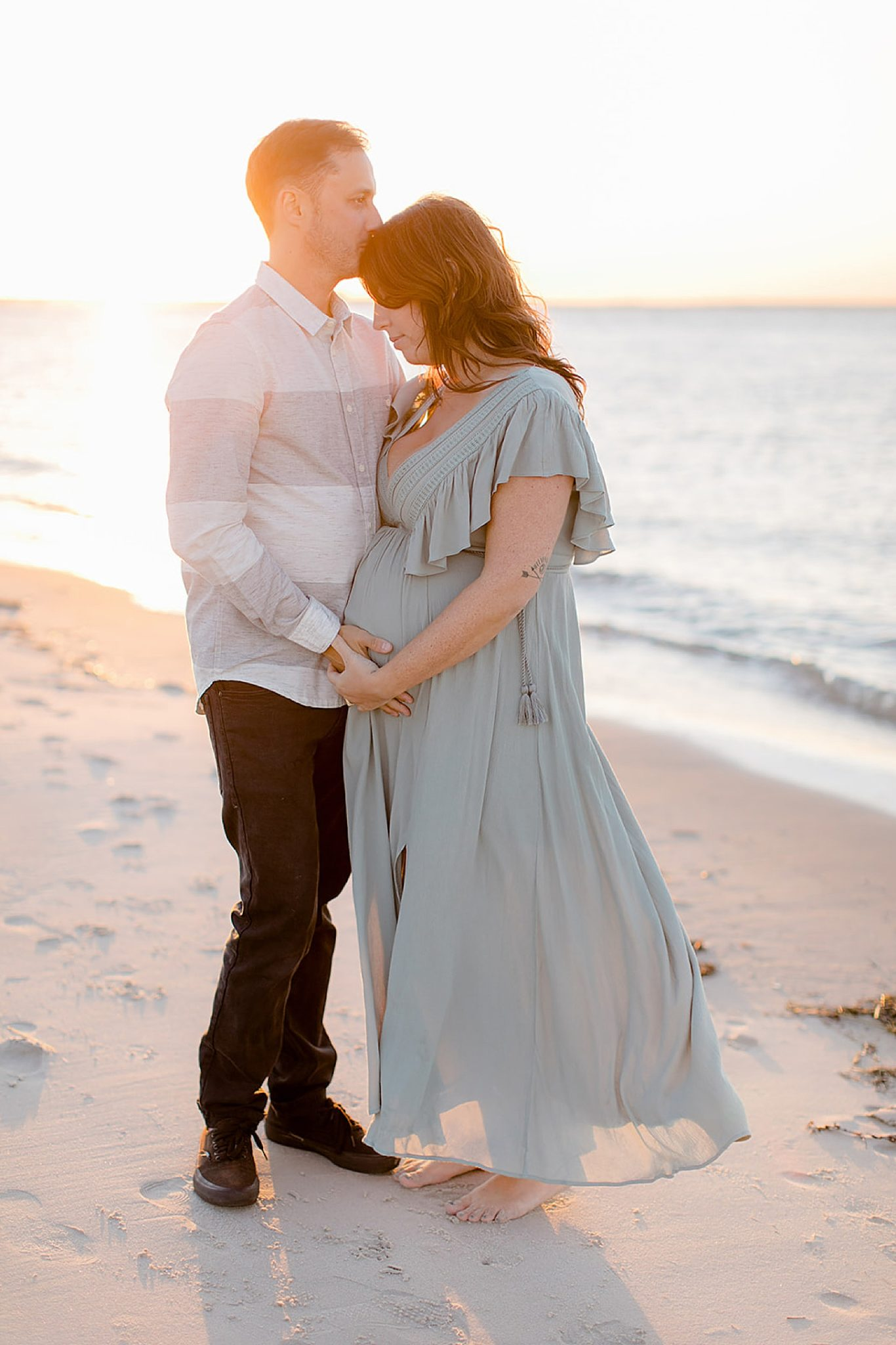 Ocean City NJ Maternity Portrait Photography by Magdalena Studios 0010 scaled