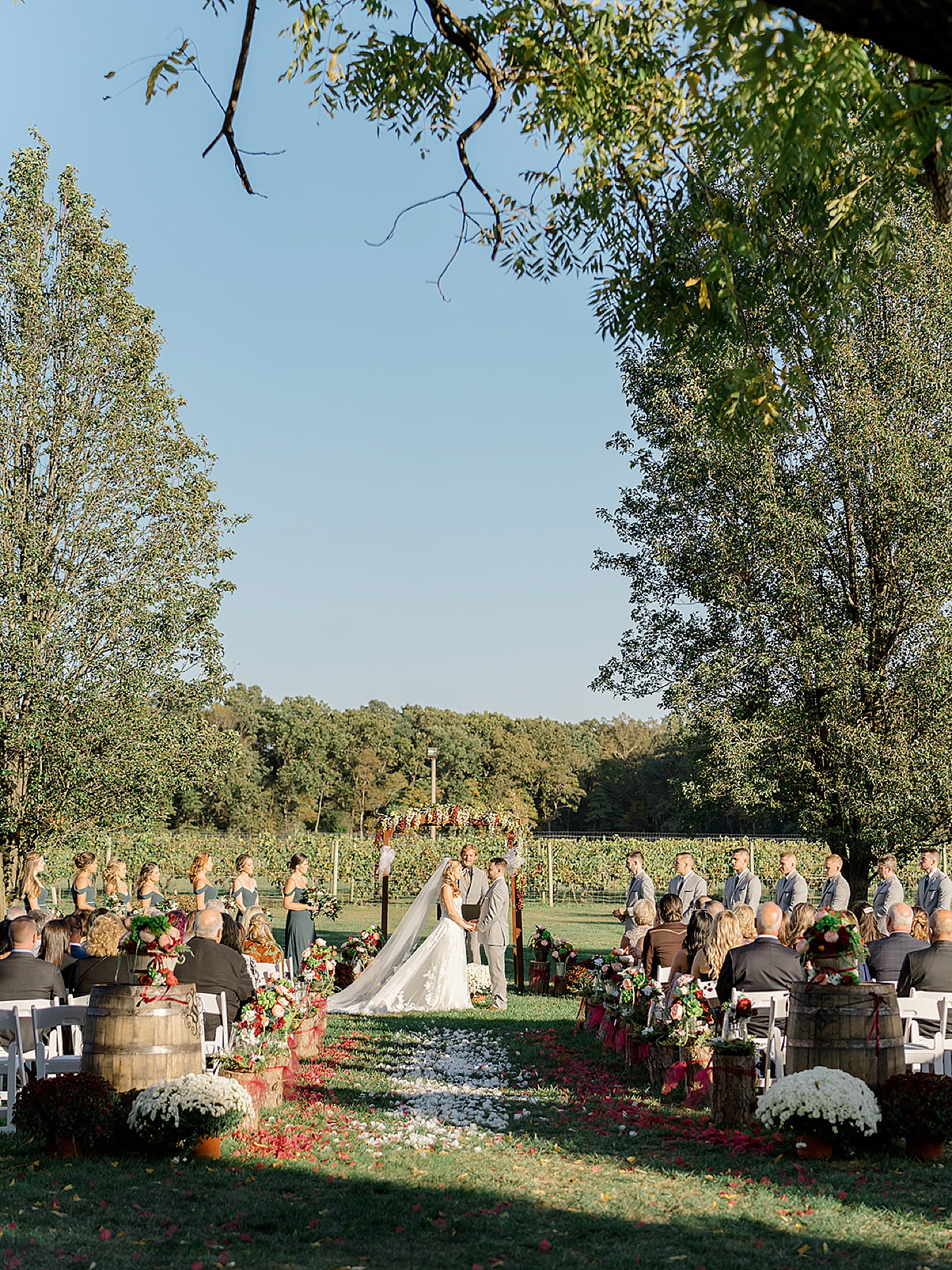 Valenzano Winery Vitners Pavillion Wedding Photography by Magdalena Studios 0022