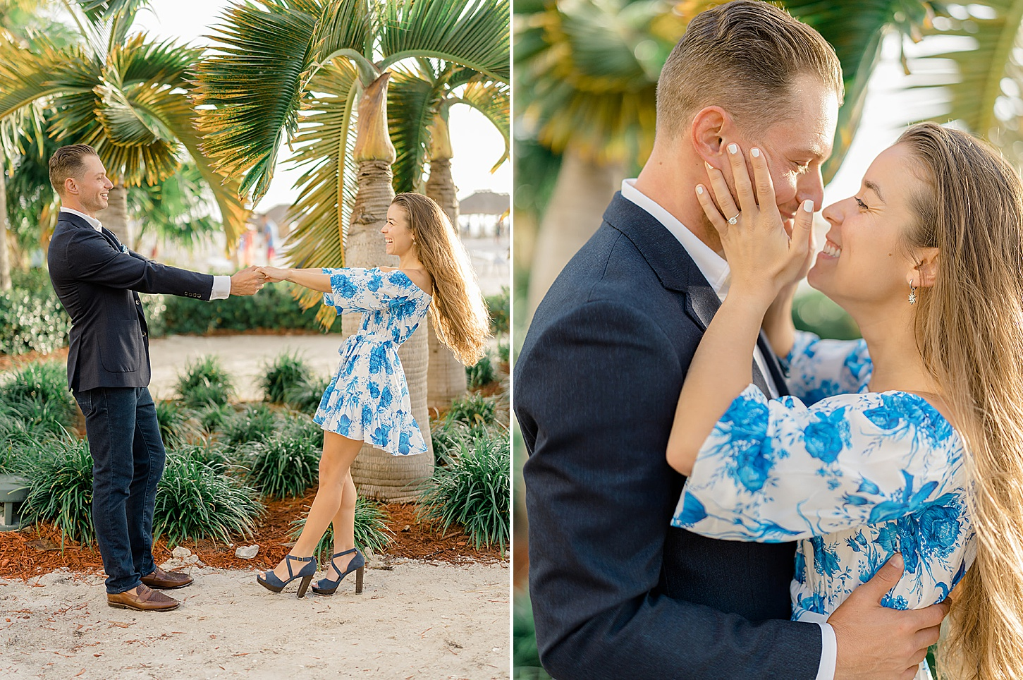 Palm Beach Florida Engagement Photography by Magdalena Studios Lyn and Paul 0009