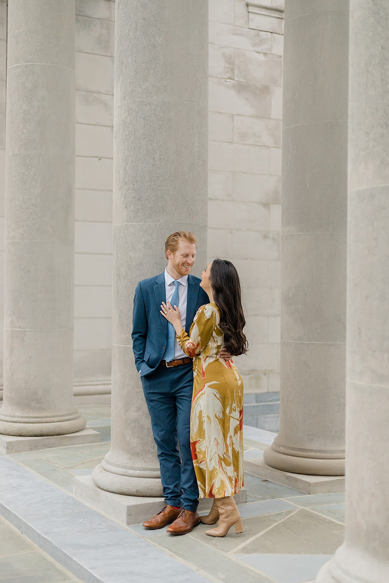Alfred I. DuPont Hospital for Children Mansion Grounds Engagement Photography by Magdalena Studios 0007 scaled