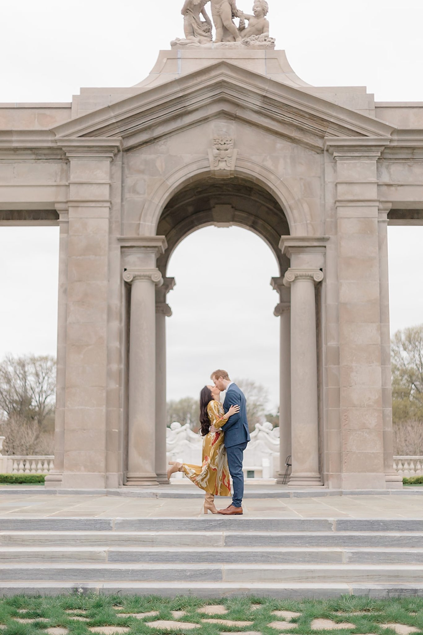 Alfred I. DuPont Hospital for Children Mansion Grounds Engagement Photography by Magdalena Studios 0010 scaled