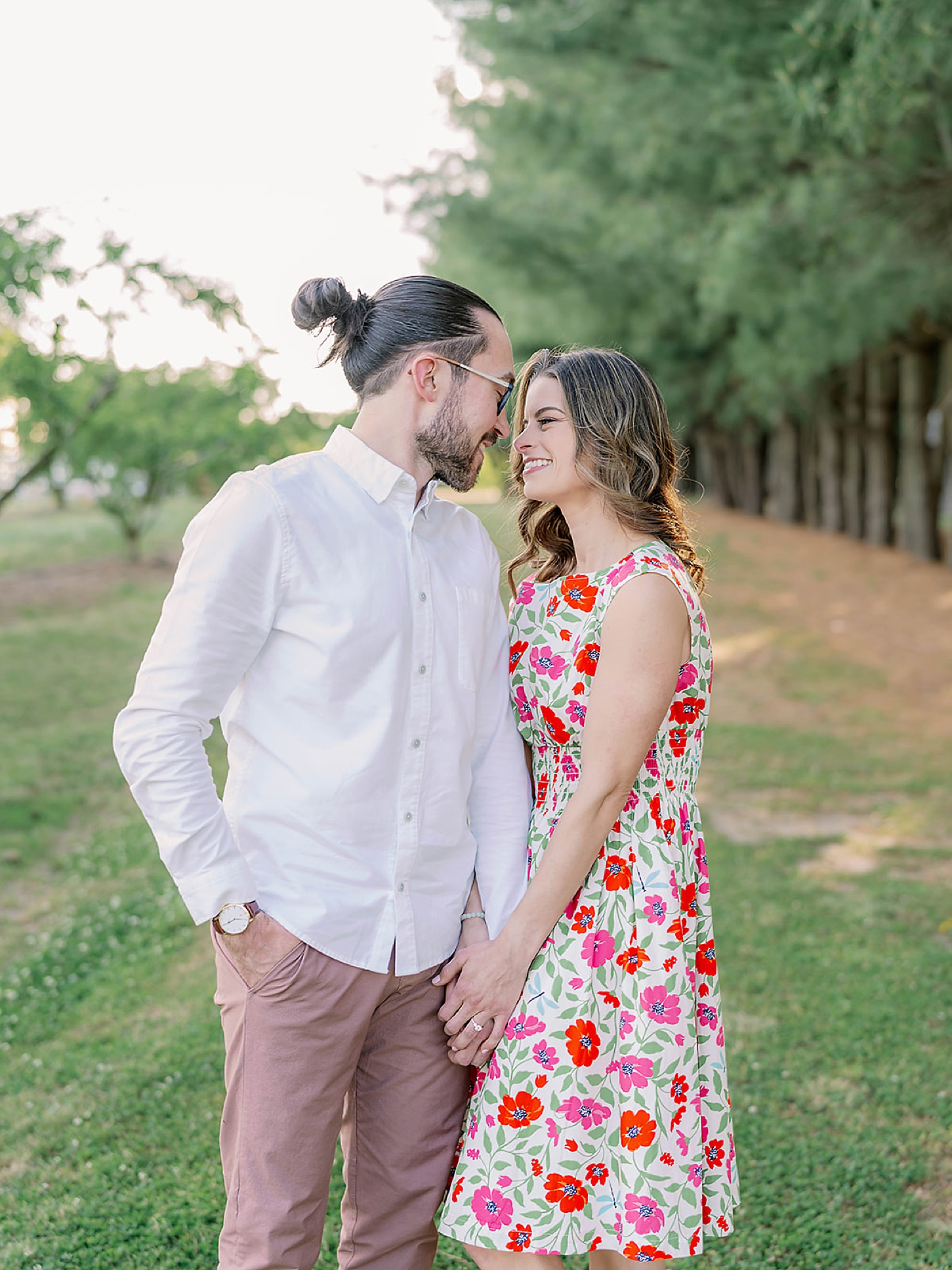 Bast Brothers Garden Center Mullica Hill NJ Engagement Photography by Magdalena Studios 0009