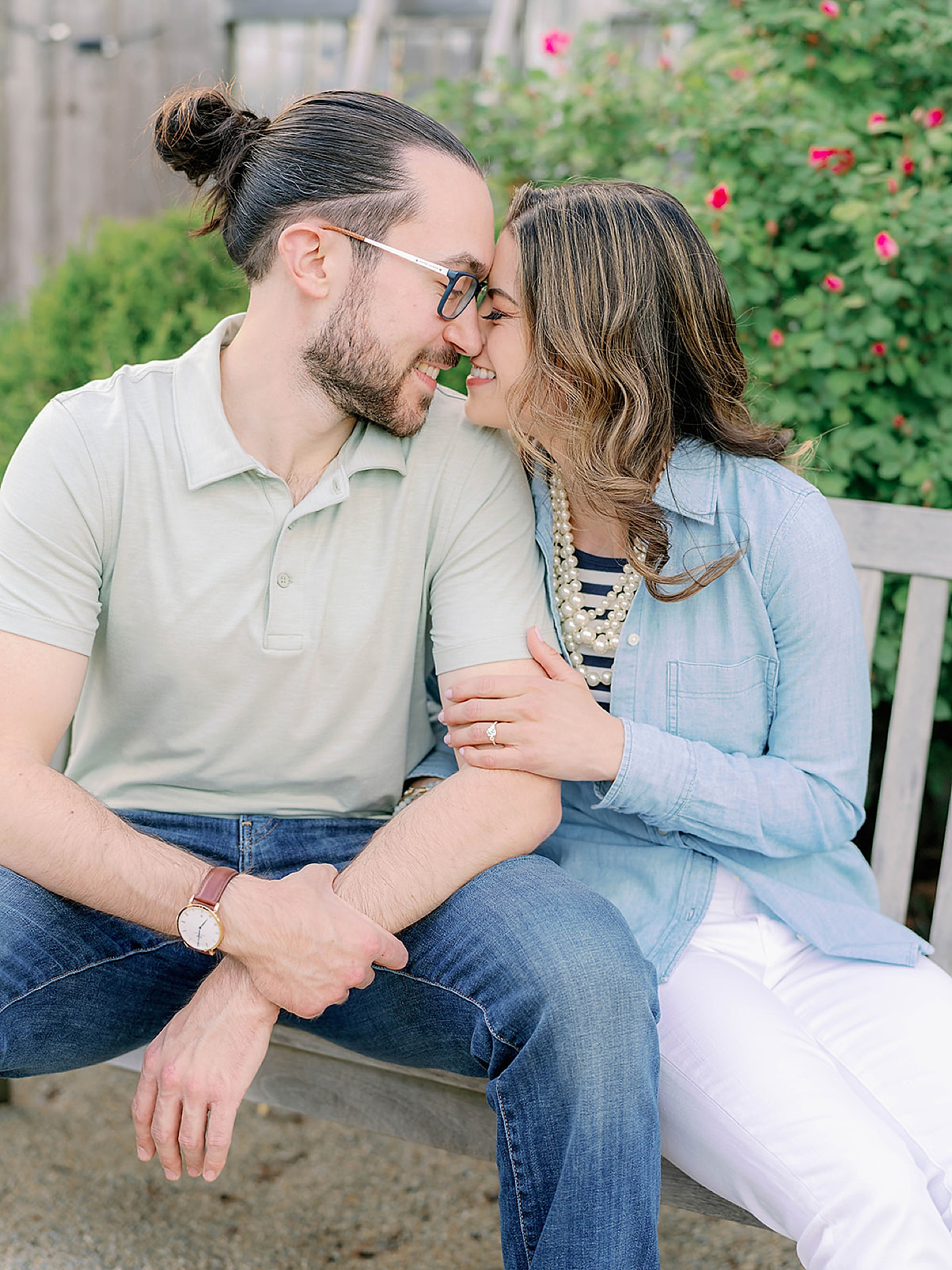 Bast Brothers Garden Center Mullica Hill NJ Engagement Photography by Magdalena Studios 0020