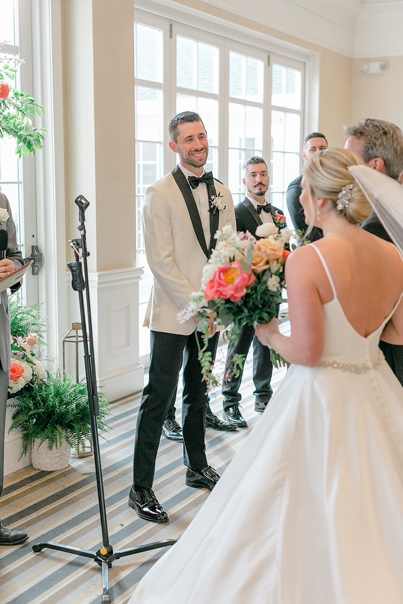 Linwood Country Club Summer Wedding Photography Studio by Magdalena Studios Jenn Kyle 0027 scaled