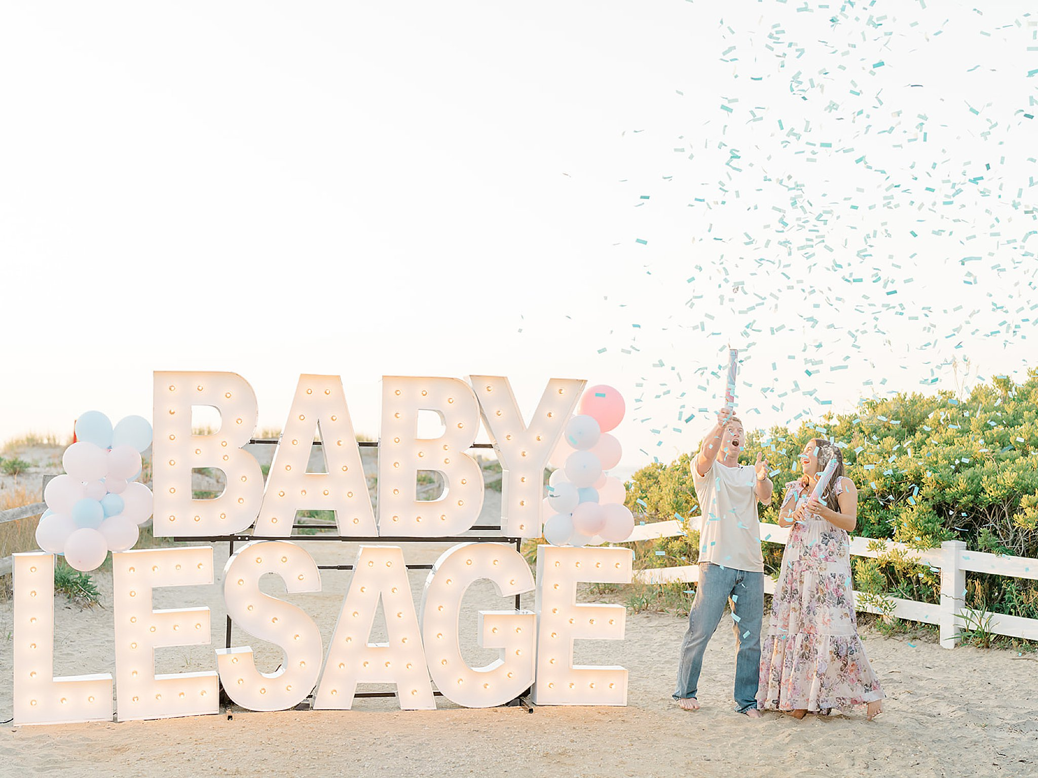 Ocean City NJ Gender Reveal Pregnancy Photography by Magdalena Studios 0007 1