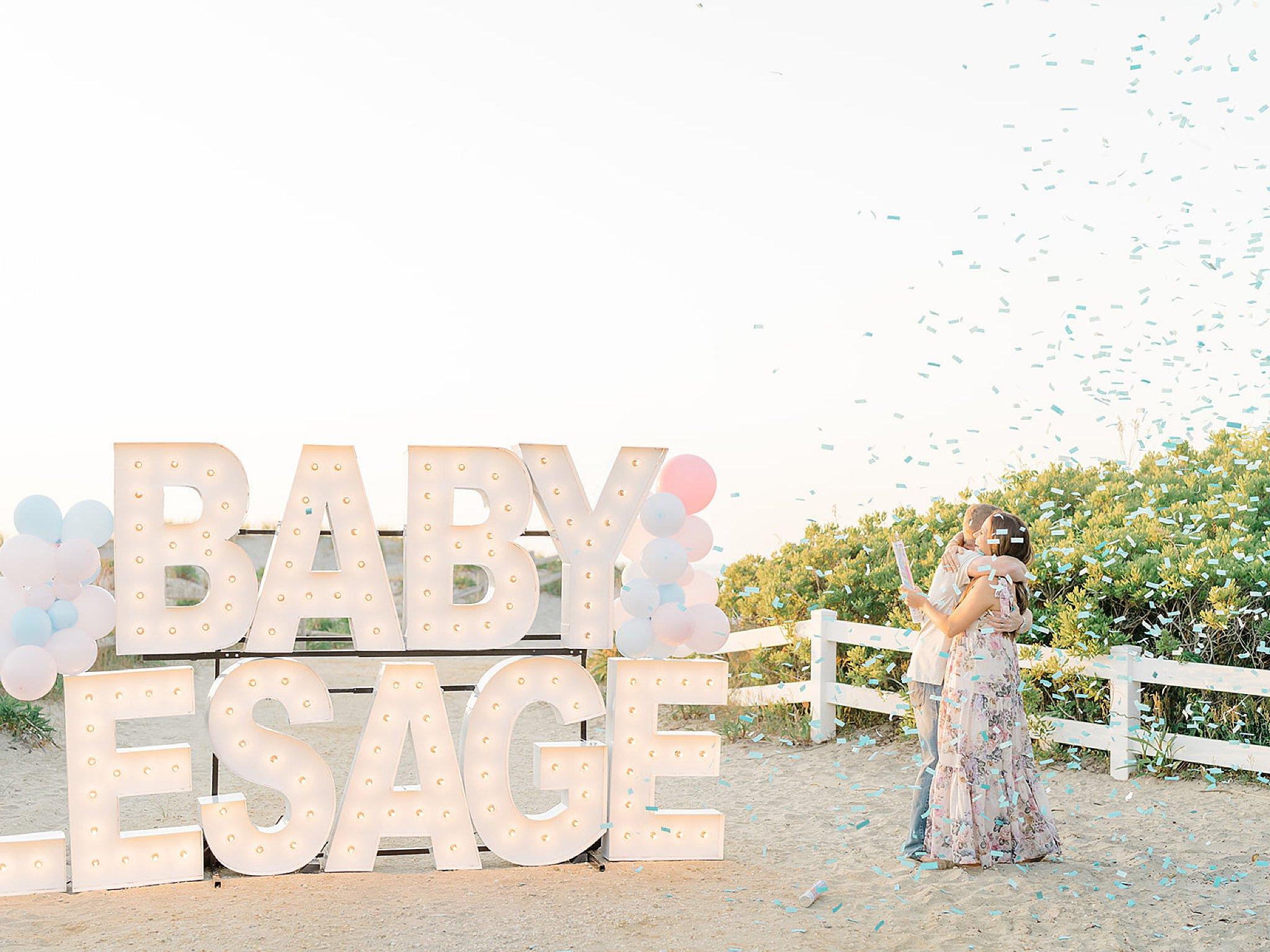 Ocean City NJ Gender Reveal Pregnancy Photography by Magdalena Studios 0008 1