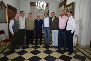 Importante reunión de Peluso con el vicegobernador Salvador