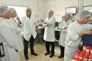 Visitó la empresa Vacalín de Bavio el ministro de Agrondustria