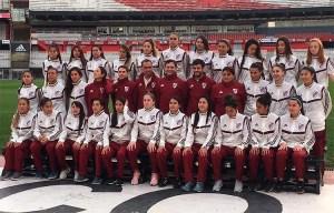 River presentó su primer equipo profesional femenino de fútbol