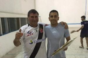 La pareja Martínez – Silva se quedó con el Torneo de Pelota a Paleta del Sport Club