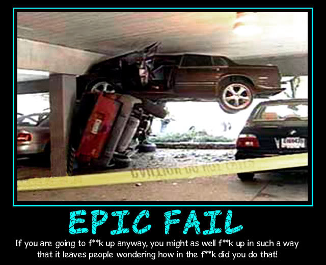 Epic Fail Car