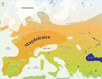 Carte LGM Europe