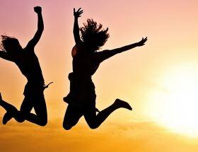 Happy people; happy chemicals