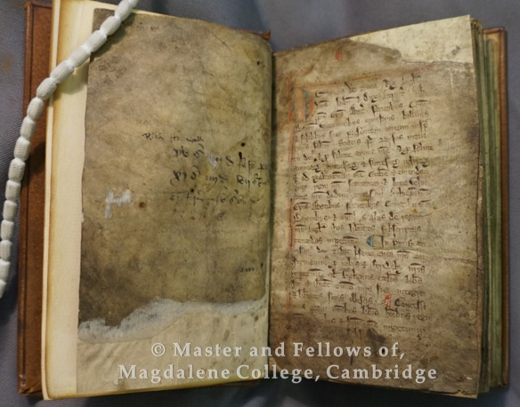 Old Library F.4.32.  Magna Carta opening and signature
